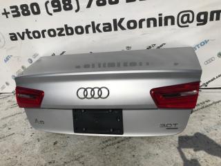 Крышка багажника задняя Audi A6 2014 год