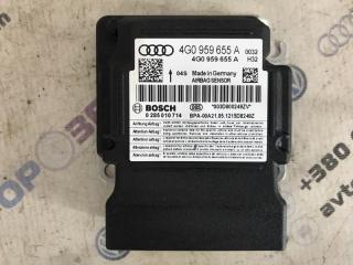 Блок управления подушками безопасности Audi A6 2013 года