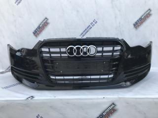 Бампер передний Audi A6 2014 год