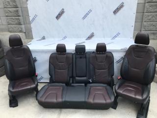 Сиденья салон кожа Ford Edge 2020 год