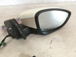 Зеркало бокового вида переднее правое Volkswagen CC 2014 год 2.0L TSI Pin 7 Б/У