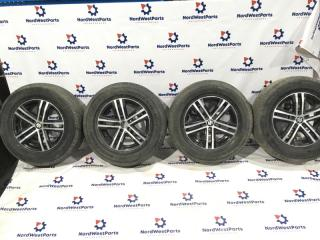 Комплект из 4-х Колесо R16 / 225 / 70 Bridgestone Dueler H/T 587 5x114.3 лит. 45ET  (б/у)