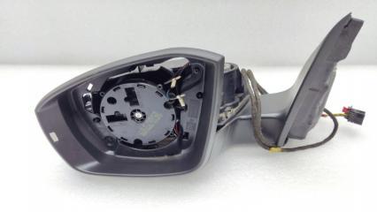 Зеркало электрическое левое Skoda Octavia A7 БУ