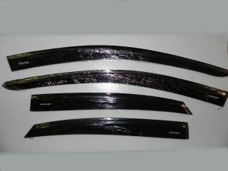 Дефлекторы на боковые стекла VOLKSWAGEN POLO 09-