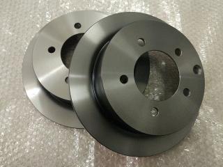 Запчасть диск тормозной задний MITSUBISHI LANCER X (07-)