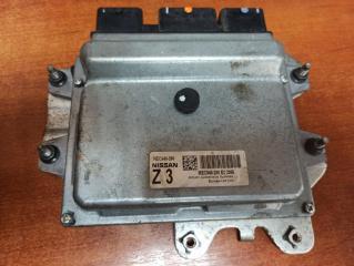 Блок управления двигателем ЭБУ NISSAN Qashqai+2 JJ10E 2012