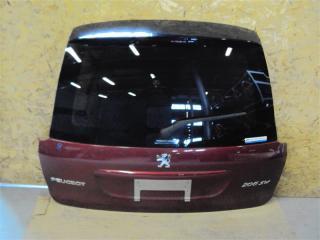 Запчасть крышка багажника задняя Peugeot 206 2005