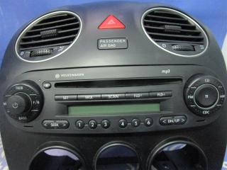 Запчасть магнитола  Volkswagen New Beetle 2008