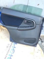 Карточка дверная задняя левая Subaru Impreza 2001