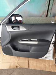 Карточка дверная передняя правая Subaru Impreza 2008