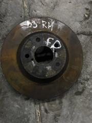 Запчасть тормозной диск передний правый Subaru Impreza 2007