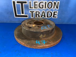 Запчасть тормозной диск задний правый SUBARU LEGACY 11.2012
