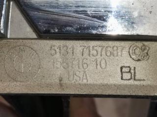 Решетка радиатора передняя левая BMW X5 E70