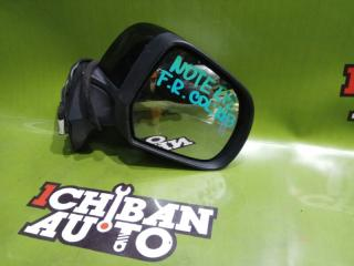 Зеркало бокового вида переднее правое NISSAN NOTE