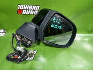Зеркало бокового вида правое NISSAN NOTE