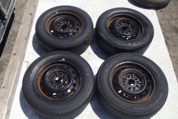 Комплект из 4-х Колесо R14 / 195 / 65 Bridgestone B'STYLE EX 195/65R14 5x114.3 штамп. 45ET