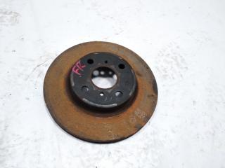 Тормозной диск передний правый TOYOTA VITZ 2011