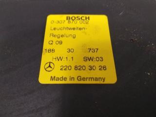 Блок управления корректора фар S-CLASS 2001 WDB220 113960
