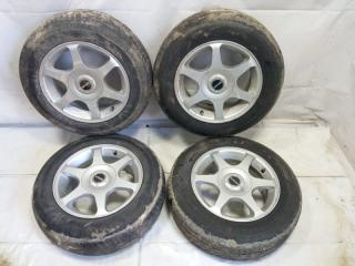 Комплект из 4-х Колесо R14 / 175 / 70 Bridgestone 175/70R14 5x100 лит. 38ET