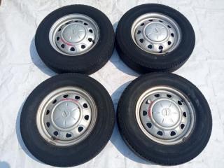 Комплект из 4-х Колесо R14 / 175 / 80 Bridgestone 175R14 LT 5x114.3 штамп. 45ET