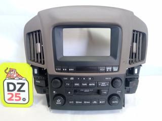 Магнитофон передний TOYOTA HARRIER 2002