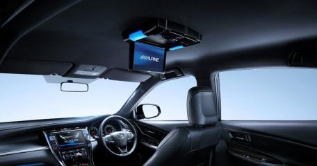 Монитор экран потолочный TOYOTA VELLFIRE 2017