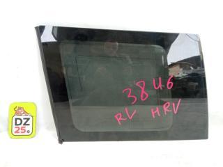 Стекло собачника заднее левое HONDA HRV 2001