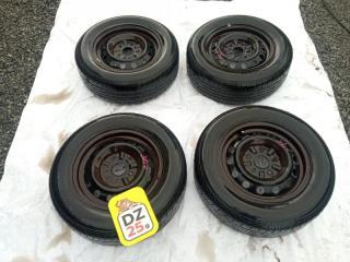 Комплект из 4-х Колесо R14 / 195 / 65 Bridgestone NEXTRY 195/65R14 5x114.3 штамп. 45ET