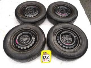 Комплект из 4-х Колесо R15 / 195 / 70 Bridgestone SNEAKER 195/70R15 5x114.3 штамп. 45ET