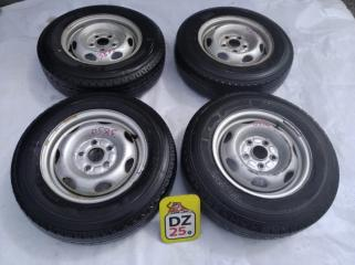 Комплект из 4-х Колесо R14 / 175 / 80 Bridgestone V600 175R14 LT 5x114.3 штамп. 45ET