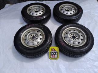 Комплект из 4-х Колесо R14 / 175 / 80 Bridgestone BLIZZAK VL1 175R14 LT 5x100 штамп. 45ET