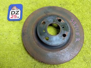 Тормозной диск передний правый TOYOTA COROLLA FIELDER 2010