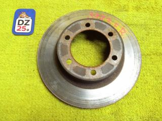 Тормозной диск передний правый TOYOTA HILUX SURF 1999 RZN185 5VZFE 4351235210 контрактная