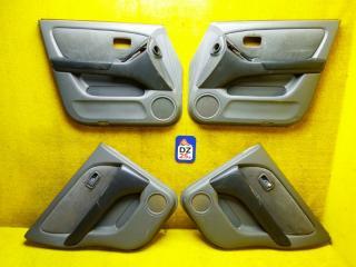 Обшивка дверей задняя левая TOYOTA HARRIER 1999 ACU10 5SFE 6764048010E0 контрактная