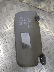 Запчасть козырек солнцезащитный передний правый Kia Spectra 2008