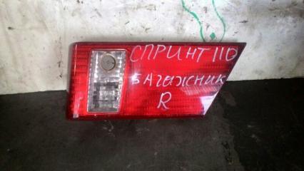 Вставка в крышку багажника задняя правая TOYOTA SPRINTER