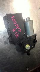 Мотор стеклоподъемника задний правый VOLKSWAGEN TOUAREG