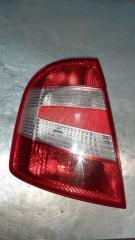 Запчасть фонарь задний левый Skoda Fabia 1 2004-2007