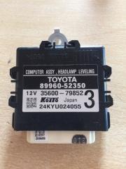 Электронный блок Toyota Aqua 2012