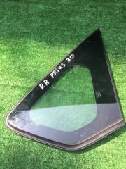 Стекло собачника заднее правое Toyota Prius 2010