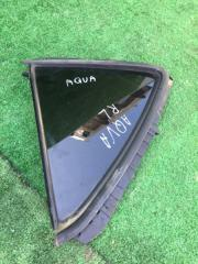 Форточка двери задняя левая Toyota Aqua 2012