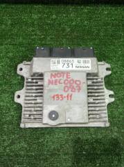 Блок управления efi Nissan Note 2013