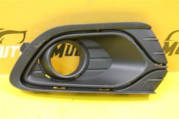 Запчасть накладка бампера передняя правая Renault Logan 2013-2018