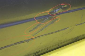Дверь передняя правая XC70 2006-2016