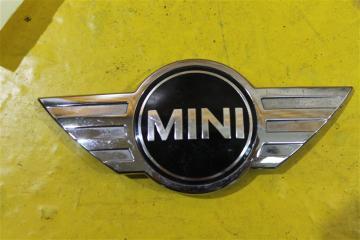 Запчасть эмблема бампера передняя Mini Cooper CountryMan 2010-2016