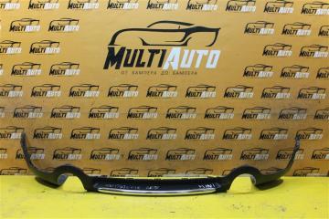 Юбка бампера задняя Mini Cooper Countryman 2010-2016