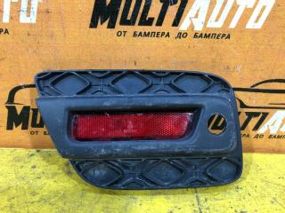 Запчасть накладка бампера задняя правая Renault Sandero 2014-2018
