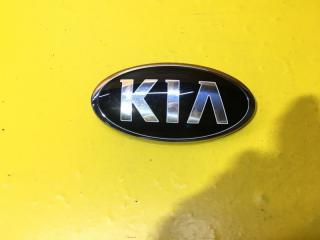 Запчасть эмблема бампера передняя Kia Sportage 2018-2020