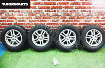 Комплект из 4-х Колесо R16 / 215 / 65 Bridgestone Blizzak Revo GZ 5x100 лит. 55ET  (б/у)