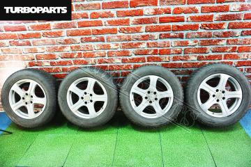 Комплект из 4-х Колесо R17 / 225 / 65 Bridgestone Blizzak DM-V1 5x114.3 лит. 38ET  (б/у)